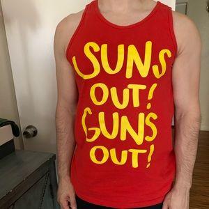 Guns Out! Suns Out! Tank Top